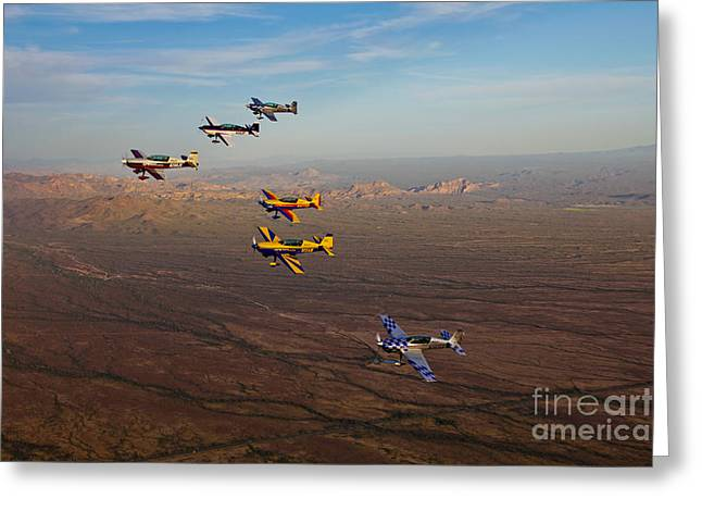 Cooperation Greeting Cards - Extra 300 Aerobatic Aircraft Fly Greeting Card by Scott Germain