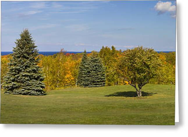 Fall In Door County Greeting Card by Twenty Two North Photography