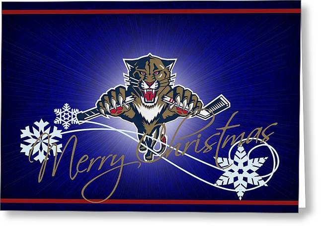 Panther Photographs Greeting Cards - Florida Panthers Greeting Card by Joe Hamilton