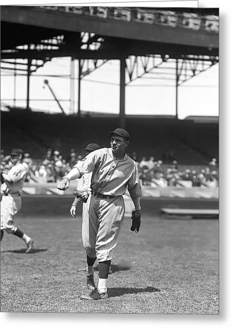 Baseball Game Greeting Cards - Forrest G. Glenn Wright Greeting Card by Retro Images Archive