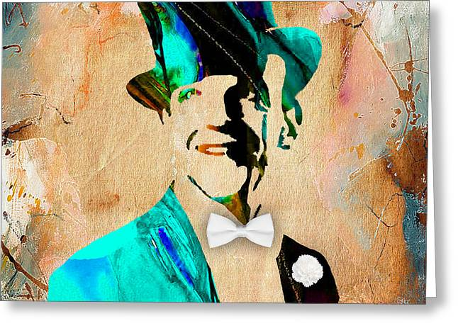 Cool Art Greeting Cards - Fred Astaire Collection Greeting Card by Marvin Blaine