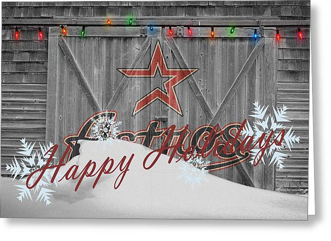 Houston Astros Greeting Cards - Houston Astros Greeting Card by Joe Hamilton