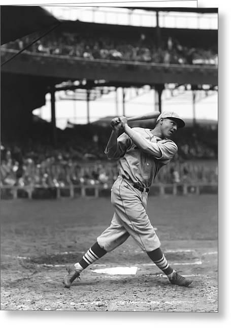 Baseball Bat Greeting Cards - Jim Rothrock Greeting Card by Retro Images Archive
