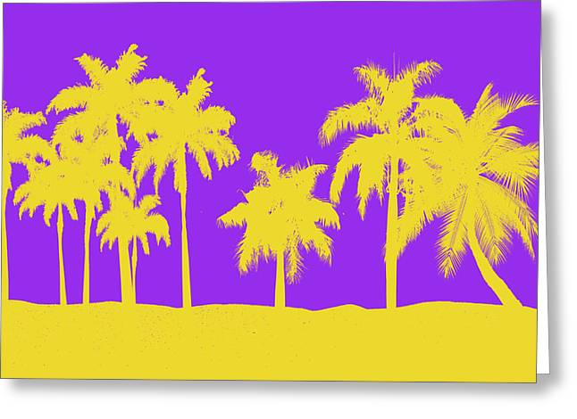 Division Greeting Cards - Los Angeles Lakers Greeting Card by Joe Hamilton