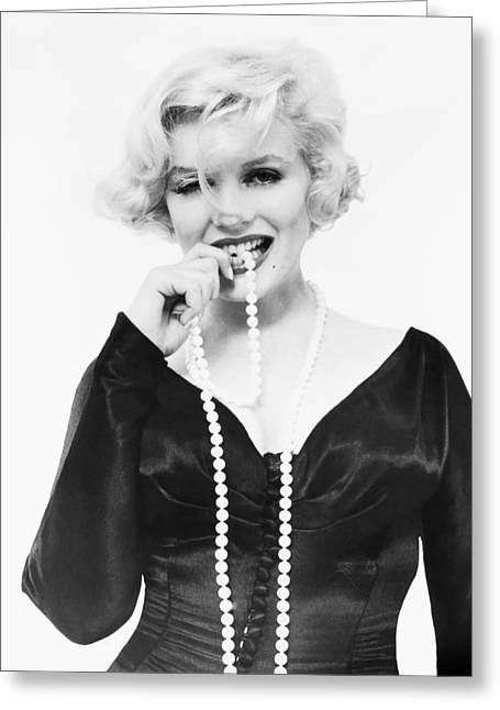 Starlet Greeting Cards - Marilyn Monroe (1926-1962) Greeting Card by Granger