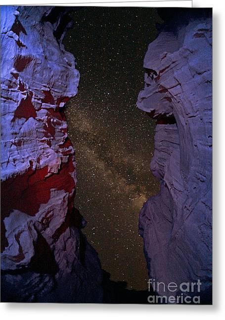 Star Valley Photographs Greeting Cards - Milky Way Greeting Card by Babak Tafreshi