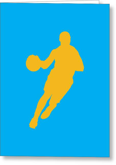 Division Greeting Cards - Nba Shadow Players Greeting Card by Joe Hamilton