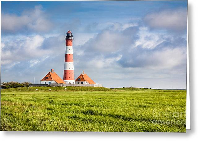 Ocean Panorama Greeting Cards - North Sea Greeting Card by JR Photography