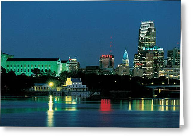 Corporate Business Greeting Cards - Philadelphia, Pennsylvania, Usa Greeting Card by Panoramic Images