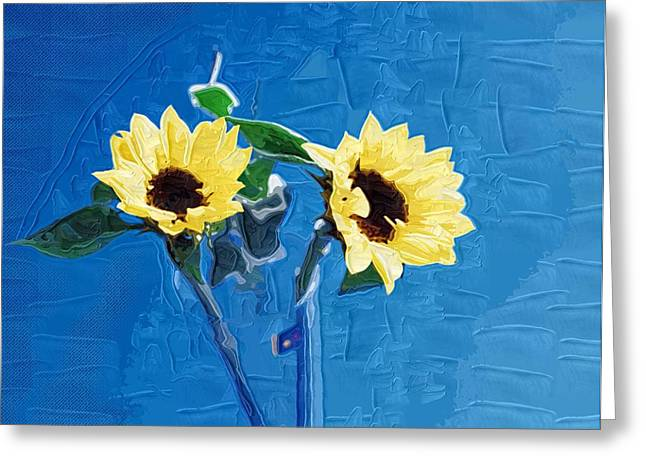 Prints Of Flowers Greeting Cards - Pictures Of Flowers to Print Greeting Card by Victor Gladkiy