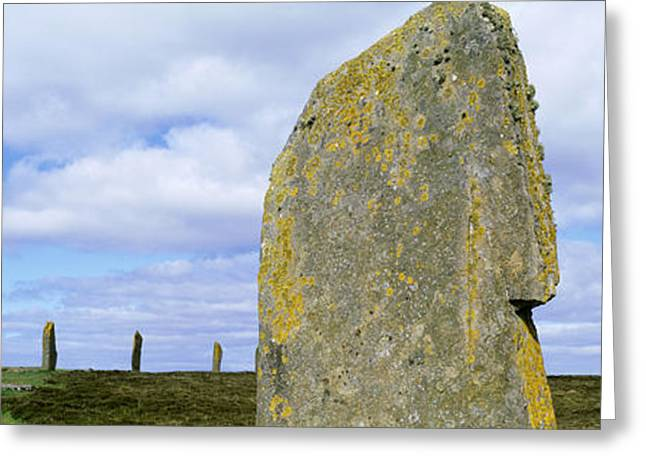 Stone Age Greeting Cards - Ring Of Brodgar, Orkney Islands Greeting Card by Panoramic Images