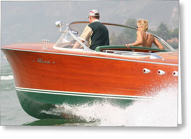 Tp52 Greeting Cards - Riva Tritone Greeting Card by Steven Lapkin