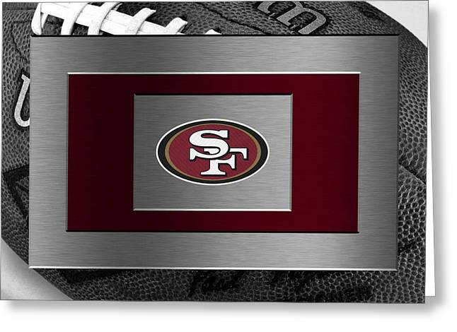 Offense Photographs Greeting Cards - San Francisco 49ers Greeting Card by Joe Hamilton