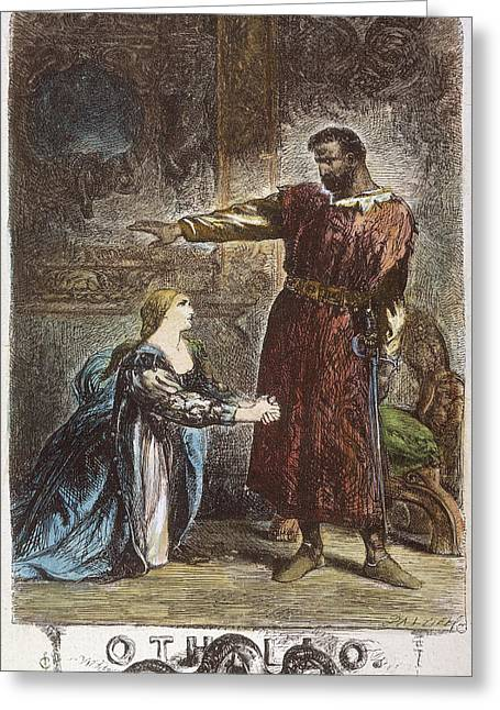 Shakespeare Othello Greeting Card by Granger