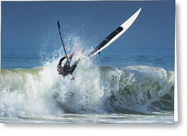 Open Ocean Kayaks Greeting Cards - Spain, Andalusia, Cadiz, Costa De La Greeting Card by Ben Welsh