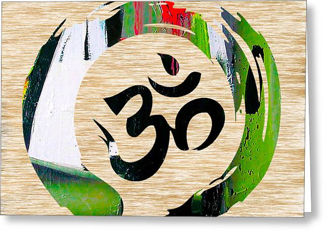 Yoga Greeting Cards - Stream of Inspiration Greeting Card by Marvin Blaine