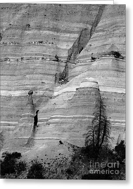 Tent Rocks Canyon Greeting Cards - New Mexico - Tent Rocks Greeting Card by Steven Ralser