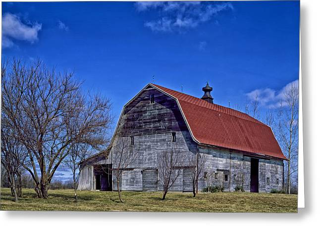 Barn Lots Greeting Cards - The Old Barn Greeting Card by Mountain Dreams