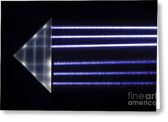 Geometric Effect Greeting Cards - Total Internal Reflection Greeting Card by GIPhotoStock