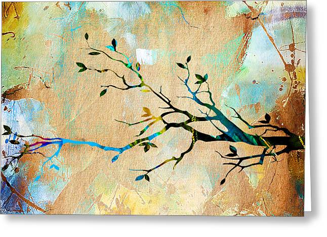 Tree Branch Greeting Cards - Tree Branch Collection Greeting Card by Marvin Blaine