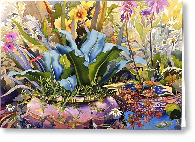 Overgrown Greeting Cards - Untitled Greeting Card by Christopher Ryland