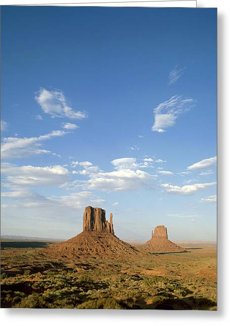 Scenary Greeting Cards - Usa, Arizona, Monument Valley, Navajo Greeting Card by Tips Images
