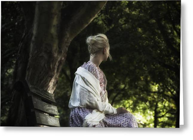 waiting Greeting Card by Joana Kruse
