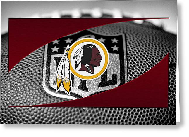 Offense Greeting Cards - Washington Redskins Greeting Card by Joe Hamilton