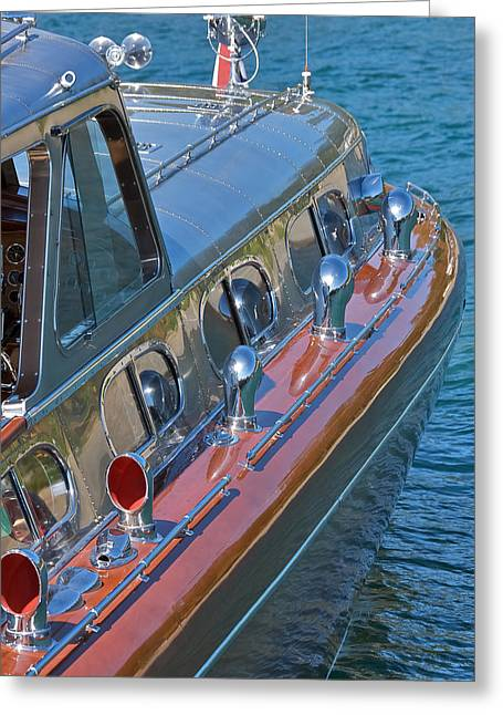 Boat Hardware Greeting Cards - Thunderbird Greeting Card by Steven Lapkin