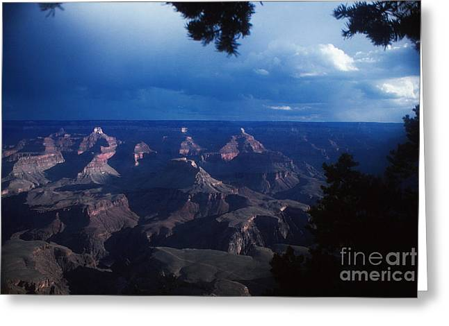 Storm Prints Digital Greeting Cards - 720 sl Grand Canyon 20 Greeting Card by Chris Berry