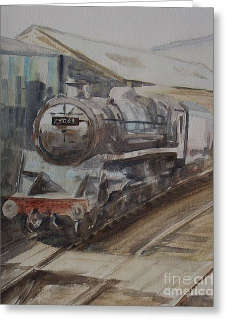 75069 Br Standard Class 4 Greeting Card by Martin Howard