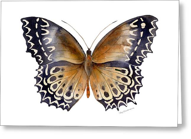 Moth Greeting Cards - 77 Cethosia Butterfly Greeting Card by Amy Kirkpatrick