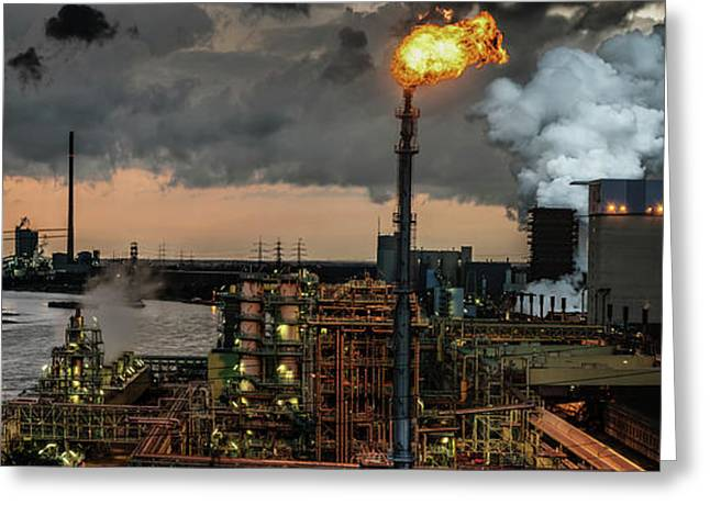 780a? A?? Industrial Pleasure Greeting Card by Rainer Inderst