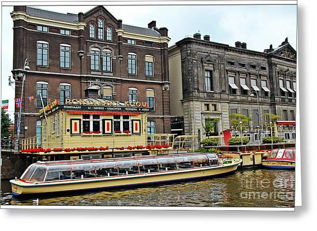 Amsterdam Greeting Card by Sophie Vigneault