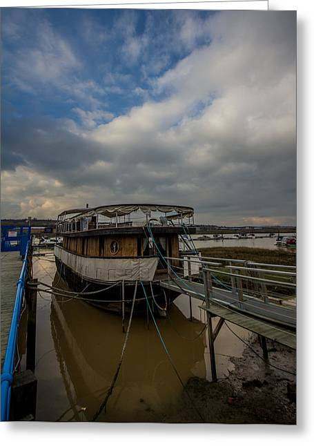 Medway Greeting Cards - Borstall Marina Greeting Card by Dawn OConnor