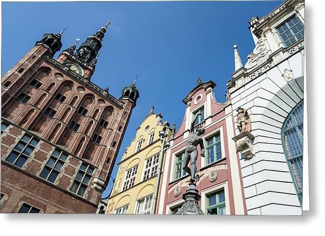 Poland Art Greeting Cards - Gdansk. Poland. Greeting Card by Fernando Barozza