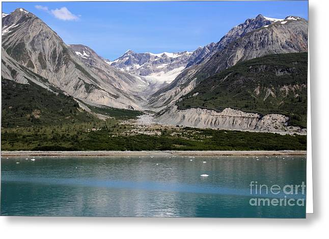 Glacier Bay Greeting Cards - Glacier Bay National Park Greeting Card by Sophie Vigneault