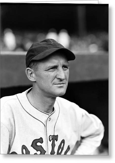 Red Sox World Series Greeting Cards - Herbert J. Herb Pennock Greeting Card by Retro Images Archive
