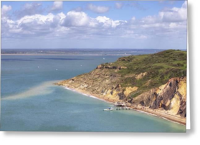 Wights Greeting Cards - Isle of Wight Greeting Card by Joana Kruse