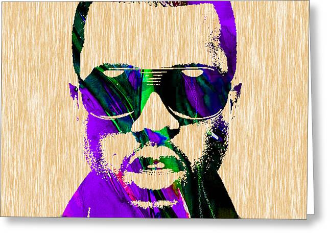 Rap Greeting Cards - Kanye West Collection Greeting Card by Marvin Blaine