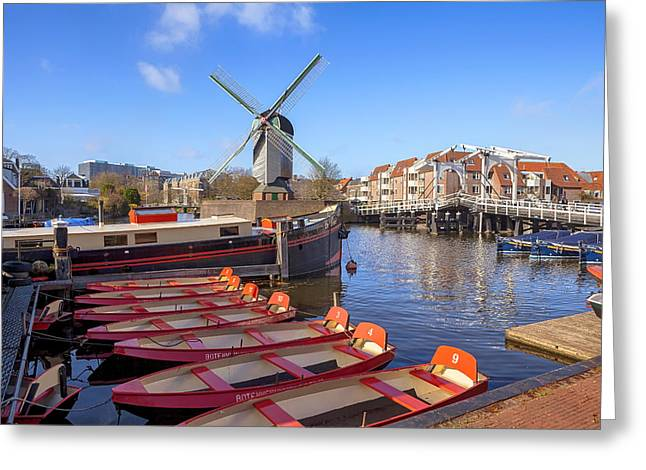 Leiden Greeting Card by Joana Kruse