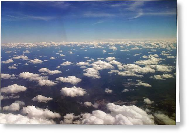 Landscape Posters Greeting Cards - 8 Miles High Greeting Card by Chris Flees