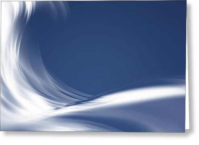 Abstract Style Greeting Cards - Modern Abstract Background  Greeting Card by IB Photo