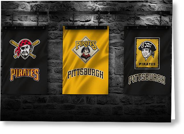 Pittsburgh Pirates Photographs Greeting Cards - Pittsburgh Pirates Greeting Card by Joe Hamilton