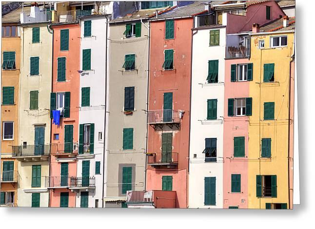 Dei Greeting Cards - Porto Venere Greeting Card by Joana Kruse
