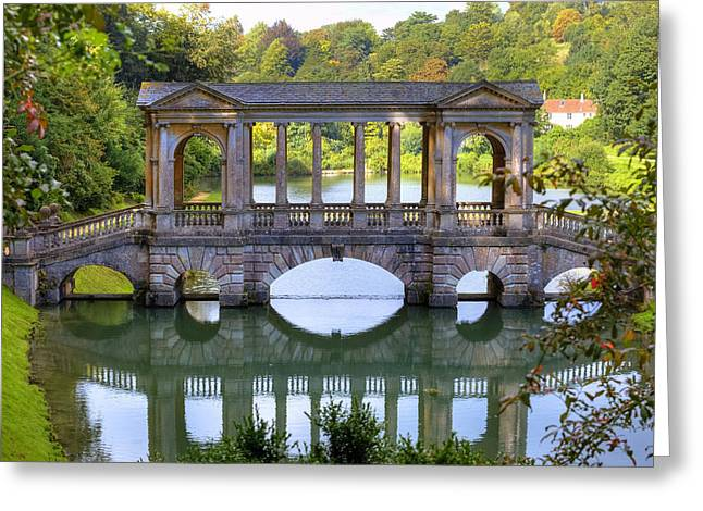 Somerset Greeting Cards - Prior Park Greeting Card by Joana Kruse