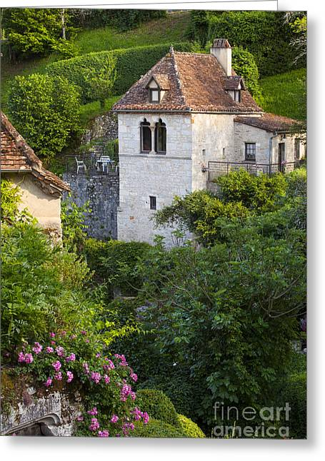 Midi Greeting Cards - Saint Cirq-Lapopie Greeting Card by Brian Jannsen