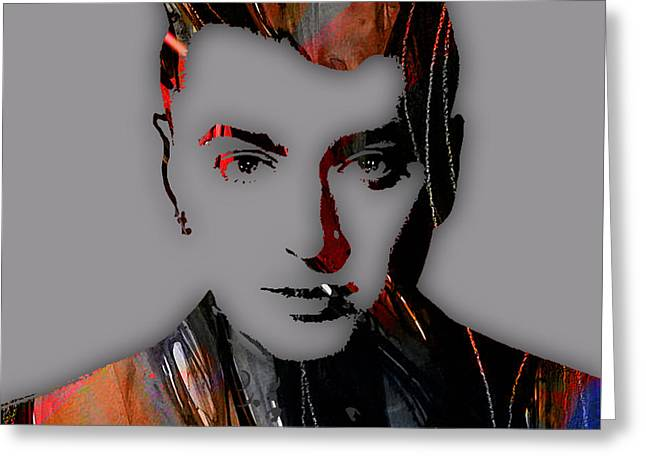 Pop Mixed Media Greeting Cards - Sam Smith Collection Greeting Card by Marvin Blaine