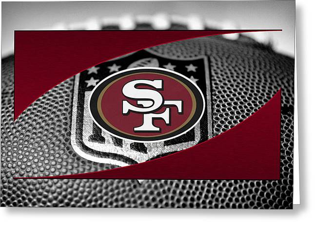 Nfl Greeting Cards - San Francisco 49ers Greeting Card by Joe Hamilton