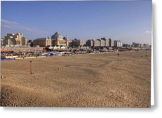 The Hague Greeting Cards - Scheveningen Greeting Card by Joana Kruse